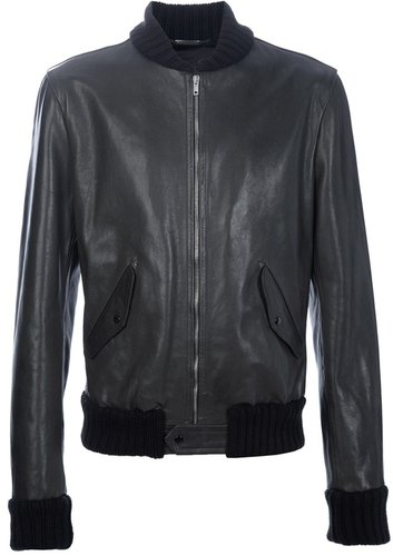 Dolce & Gabbana leather jacket