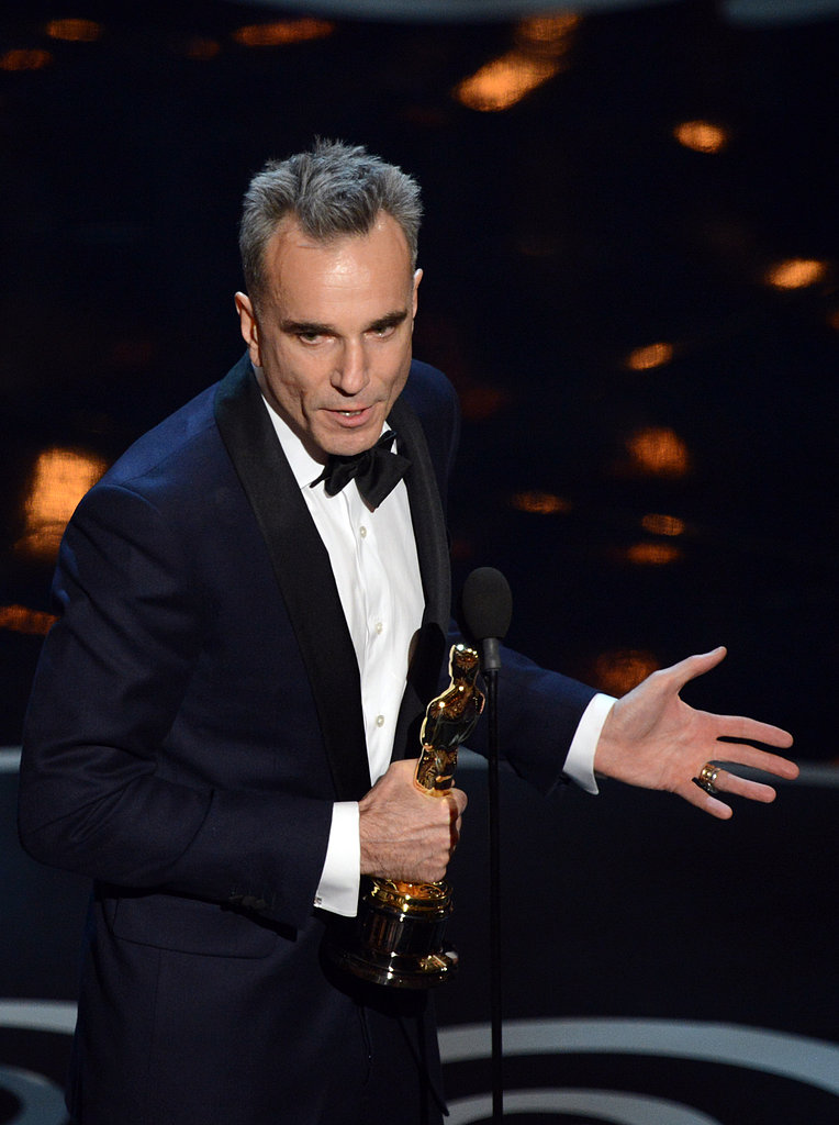 Daniel Day-Lewis' Comic Acceptance Speech