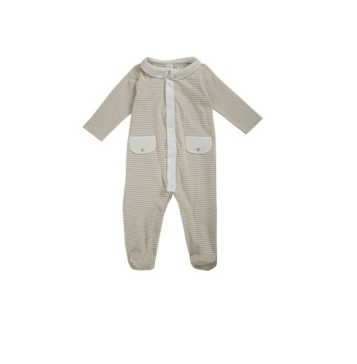 Laranjinha Striped Coverall