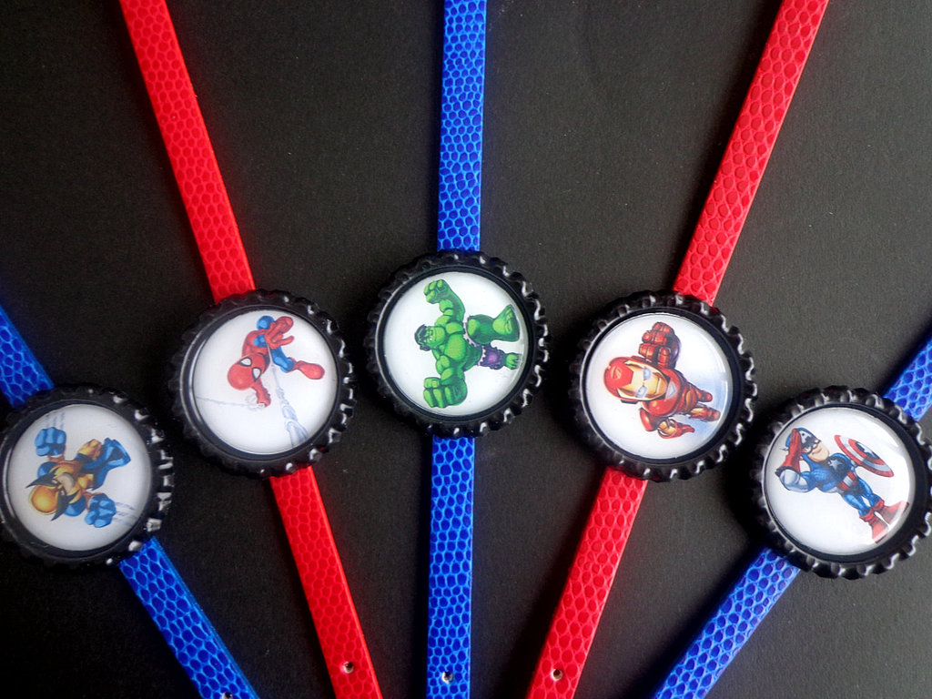 Marvel Superhero Bracelets