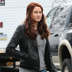 Shailene Woodley's Red Hair