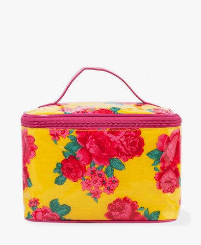 FOREVER 21 Blooming Rose Cosmetic Bag