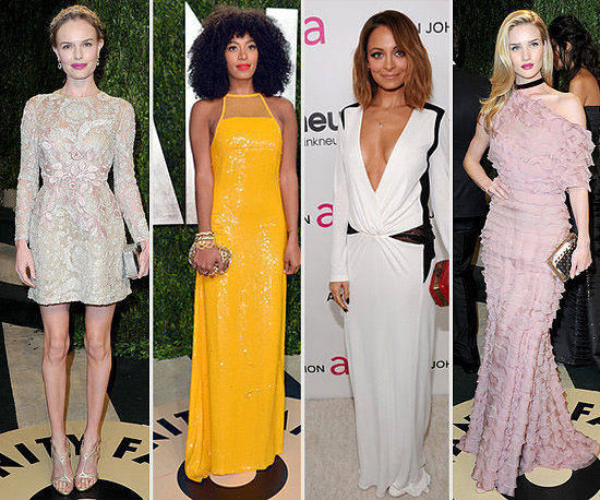 2013 Oscars Parties: Who Wore What