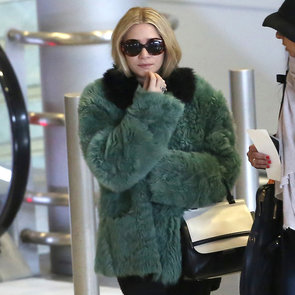 Ashley Olsen Arriving at Roissy Airport in Paris | Pictures