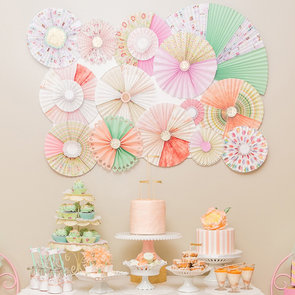 Peach Baking Shop Birthday Party