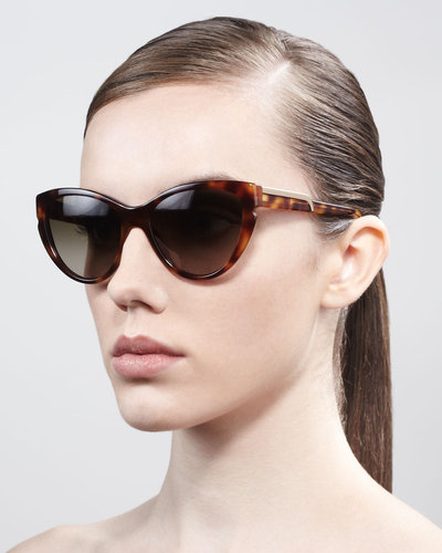 Stella McCartney Sunglasses Cat-Eye Sunglasses, Tortoise