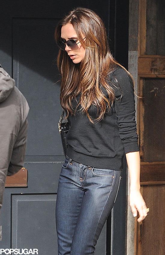 Victoria Beckham had a shopping trip in London.