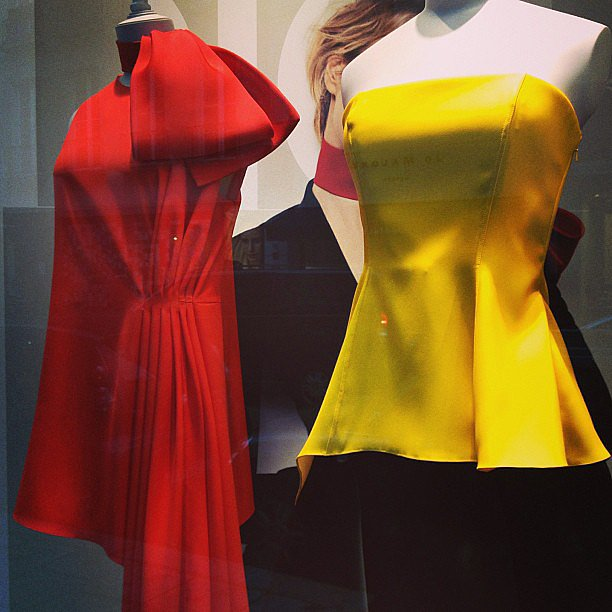 Eye candy, courtesy of Christian Dior by Raf Simons.