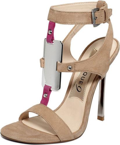 Strappy Beige Sandals