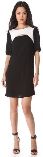 Tibi Alexa Cutout Dress