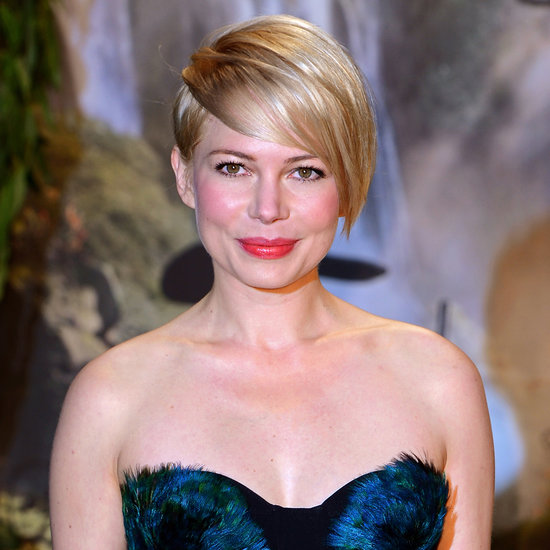 Celebrity Hair: Michelle Williams Growing Out Pixie Crop