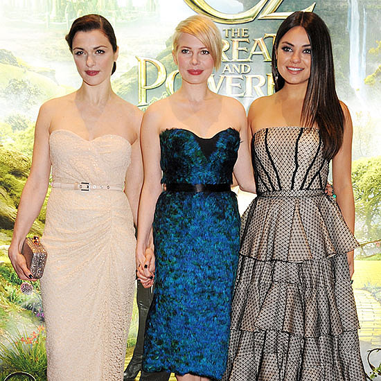 Michelle Williams and Mila Kunis at Oz UK Premiere | Video