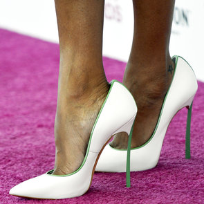 Celebrity Shoe Trends: Casadei Pointed High Heel Pumps