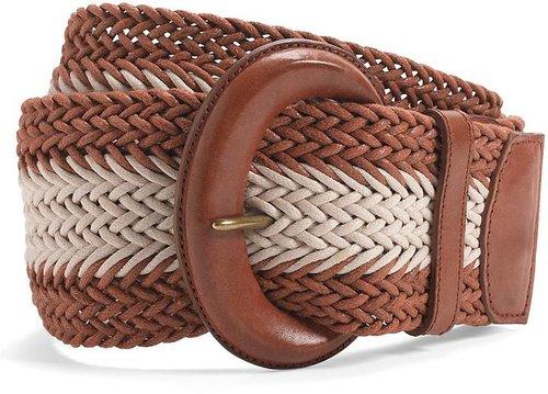 Cotton Two-Tone Web Belt