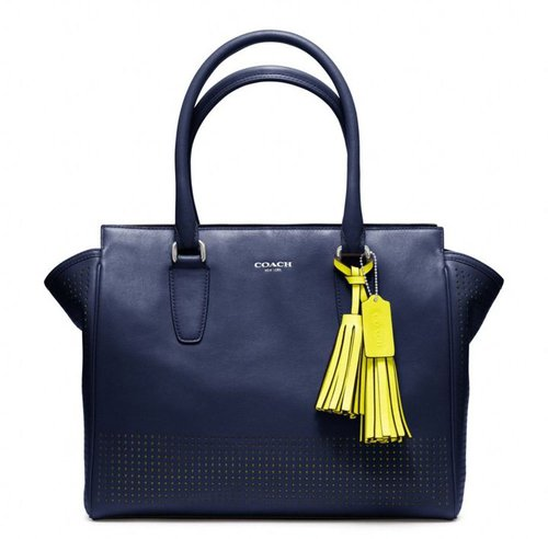 Legacy Perforated Leather Medium Candace Carryall
