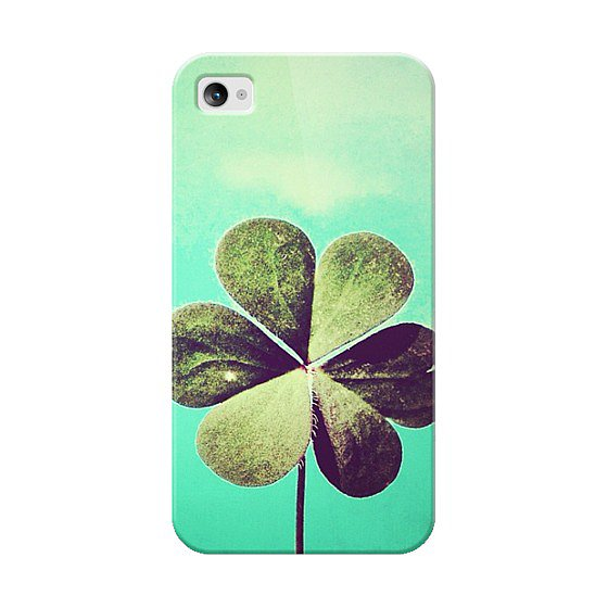 Four Leaf Clover iPhone 4/4S Case