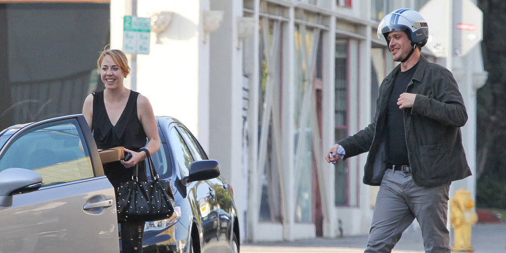 Jason Segel Is All Smiles at Lunch With a Lady Friend