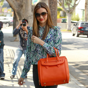 Miranda Kerr Taking a Business Meeting in LA | Pictures