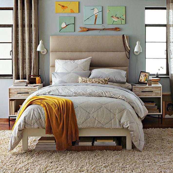 33 Smart Small Bedroom Design Ideas: Small Bedroom Decorating Ideas