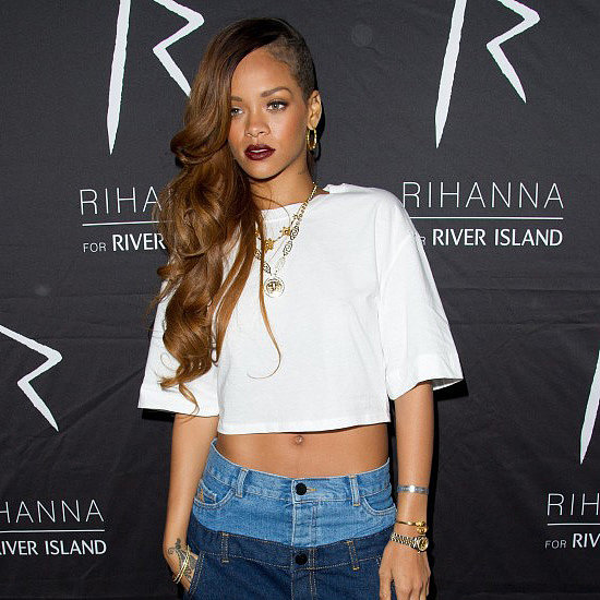 Rihanna at River Island London Party