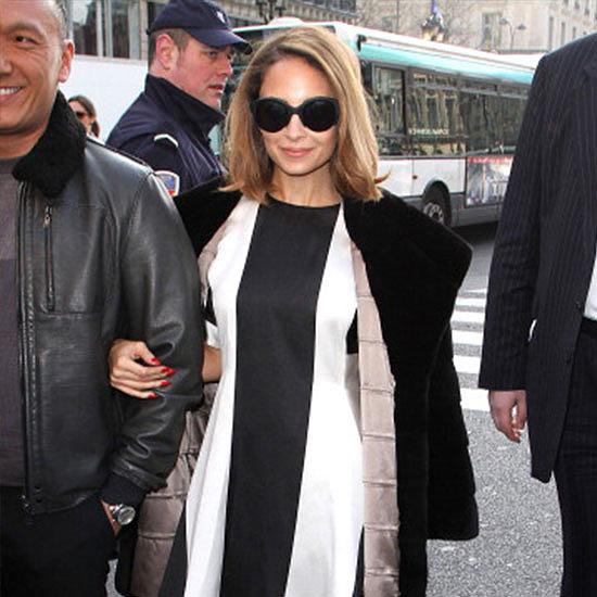 Celebrity Front Row at Paris Fashion Week 2013