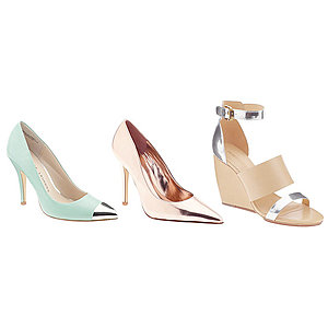 Aimee Song's Metallic Shoe Picks For Spring 2013