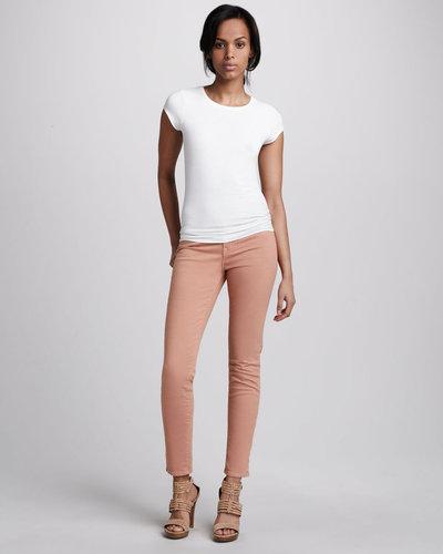 J Brand Jeans 811 Tiger's Eye Twill Skinny Jeans