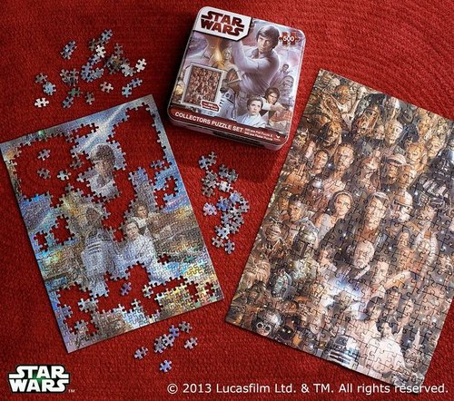 Star Wars Collector Puzzle
