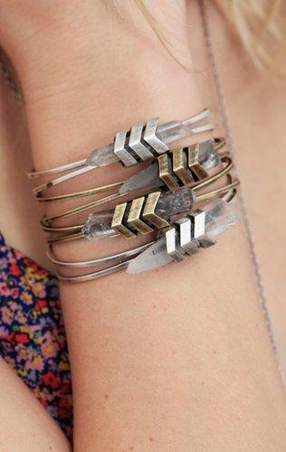 tomtom jewelry Chevron Aura Cuff