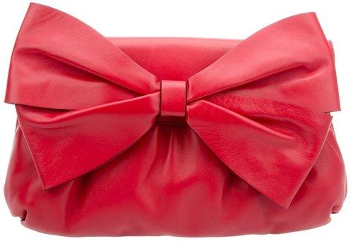 Valentino Bow detail shoulder bag