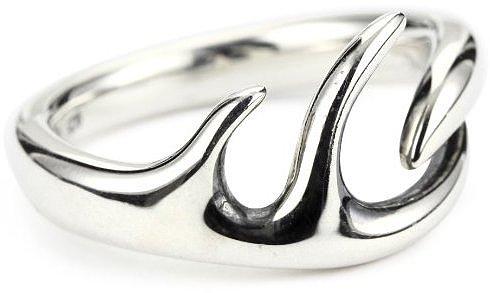 """Elizabeth and James """"Antler"""" Sterling Silver Ring Size 8"""
