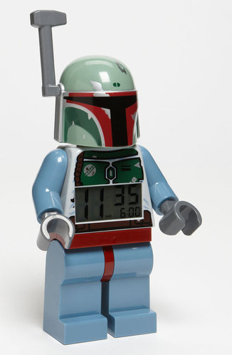 LEGO 'Boba Fett' Alarm Clock