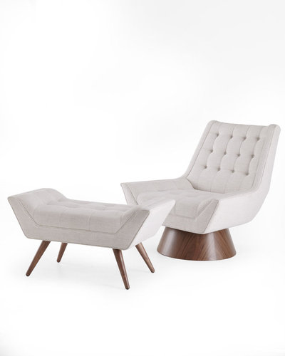 "Jonathan Adler ""Whitaker"" Chair & Ottoman"