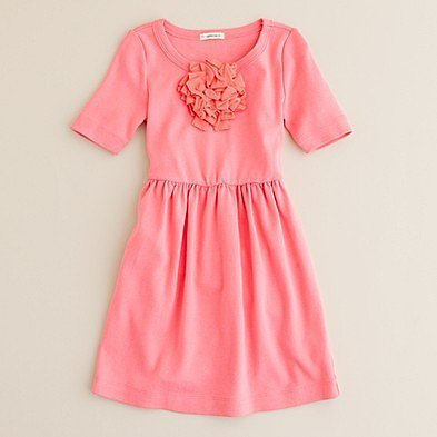 Girls' city-tee bloom dress