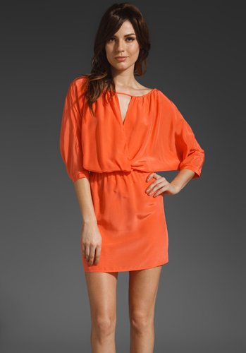 Twelfth Street By Cynthia Vincent Cross Front Mini Dress