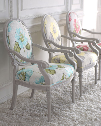 "Key City Furniture ""Eliza"" Louis XVI-Style Chair"