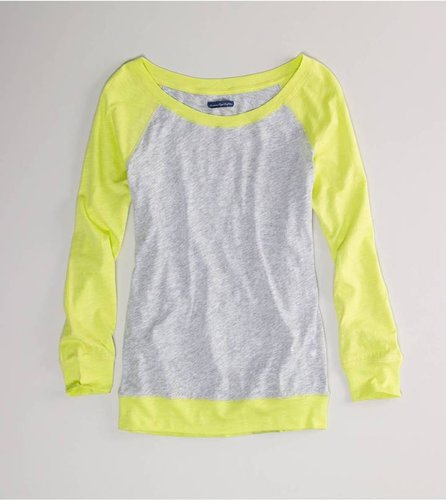 AE Colorblock Baseball T Style: 1532-9484 | Color: 802