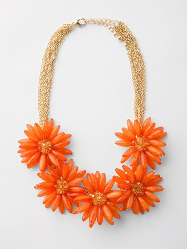 Chunky Floral Bib Jewelry