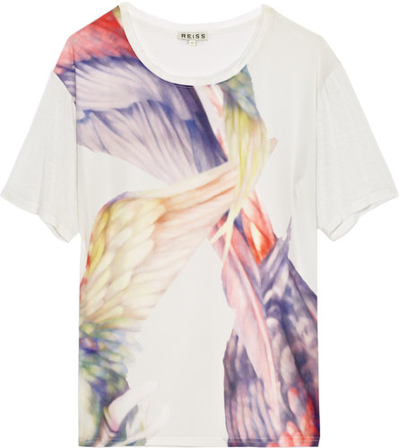 Danni TROPICAL BIRD PRINT T-SHIRT