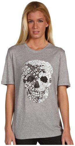 Alexander McQueen Crystal Skull T-Shirt Oversized