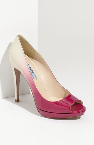 Prada Dégradé Peep Toe Pump (Exclusive)