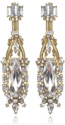Erickson Beamon Bette Davis Eyes Crystal Earrings