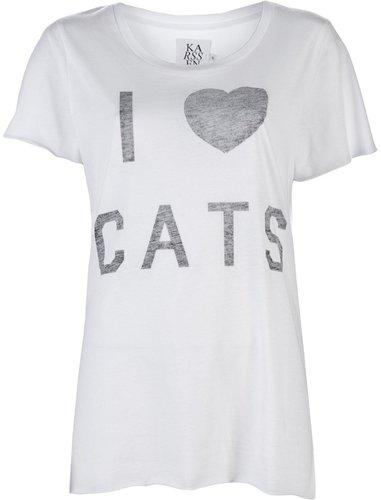 Zoe Karssen I HEART CATS T-SHIRT