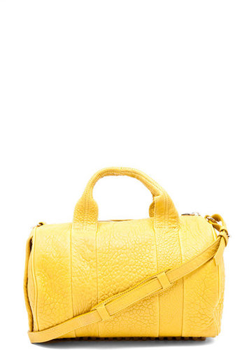Alexander Wang Rocco Satchel in Citrus