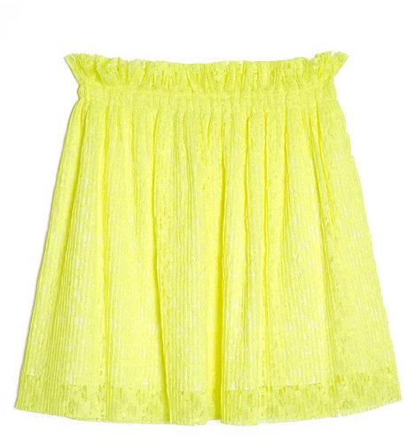 MSGM Lace Pleat Skirt
