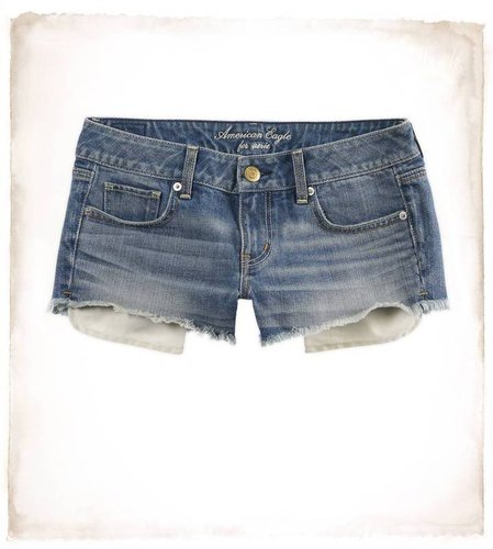 American Eagle for Aerie Denim Cutoff Shortie Style: 8499-3096 | Color: 914
