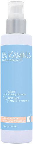 B. Kamins Laboratories Maple Creamy Cleanser 6 fl oz (180 ml)