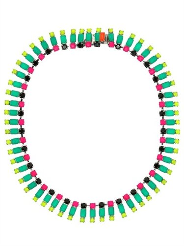 Tom Binns - Tekno Chic Multicolor Necklace