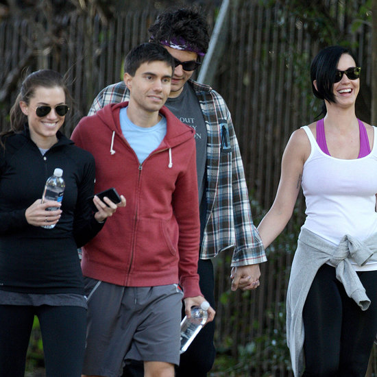 Katy Perry and John Mayer Hiking With Allison Williams