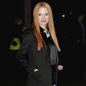 Jessica Chastain Paris Fashion Week 2013 | Pictures
